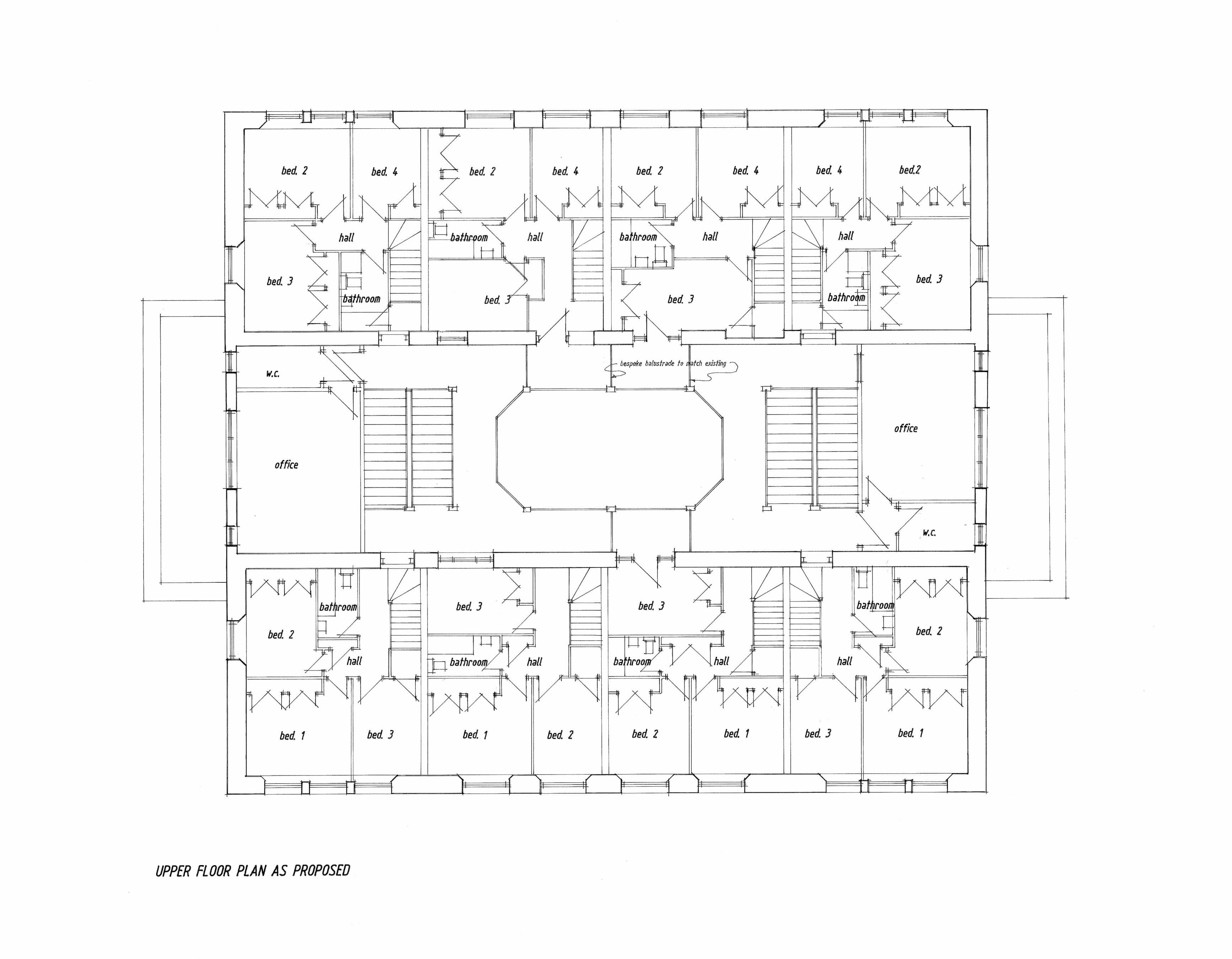 Ground floor plan view original hillfoothomes